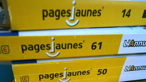 Pages Jaunes papier